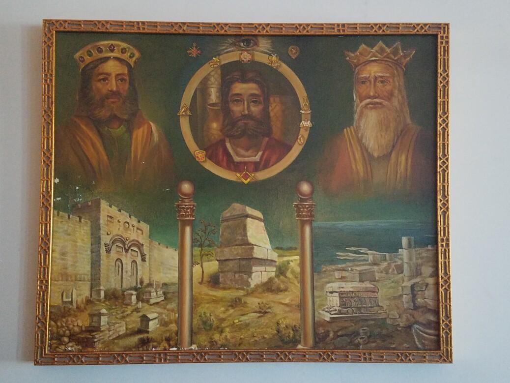 Masonic Painting