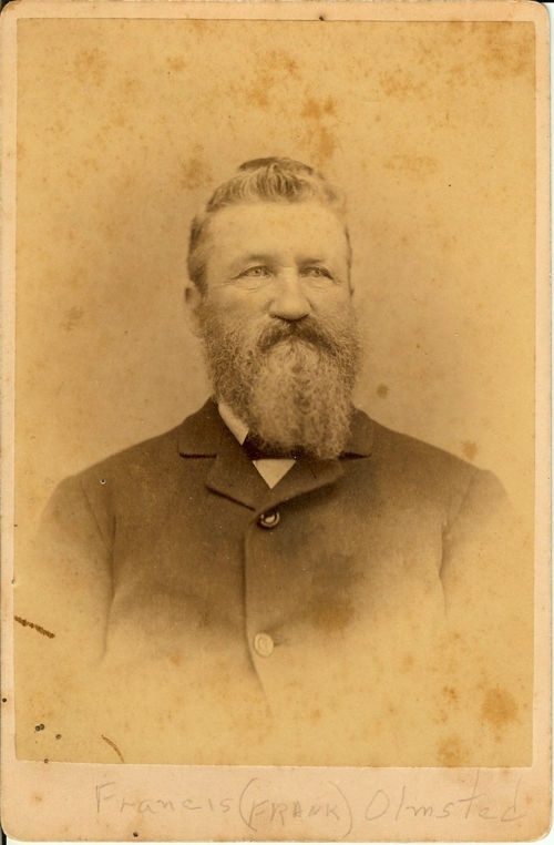 Nineteenth century bearded man in suit