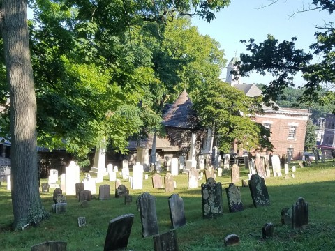 Huntington's Masonic Lodge Volunteers at Old Burying Ground