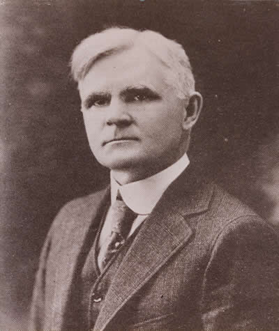 Robert K. Toaz, first superintendent of the Huntington School District.